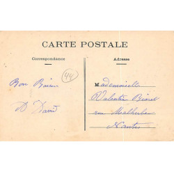LA FERE : carte photo d'un...