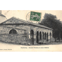 CHALINDRE : grande fontaine...