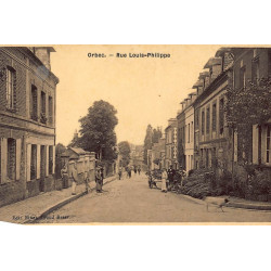 ORBEC : rue louis-philippe...