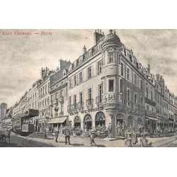 DIJON : cafe georges - tres...