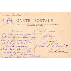 LOT DE 2 CARTES PHOTOS -...