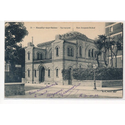 NEUILLY : synagogue, rue...