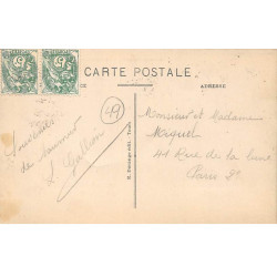 BERCK : carte photo de...