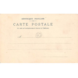 USSEL : carte photo du...