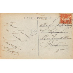 ROANNE : carte photo de...