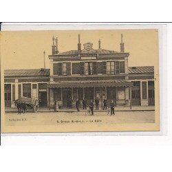 VAILLY : carte photo d'une...