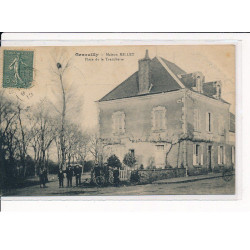 LE MANS : carte photo de la...