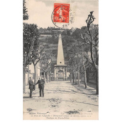 FRETEVAL : carte photo du...