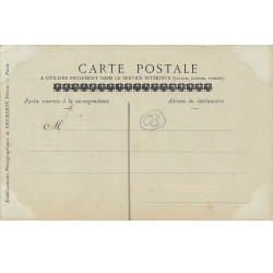BELLEME : carte photo vers...