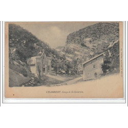 CHAMBERY : gorges de St...