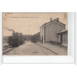 SAINTES : carte photo d'un...