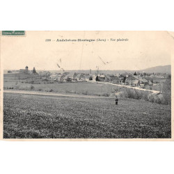 FOURAS : carte photo du...