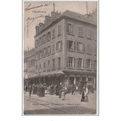 CHERBOURG : grands magasins...