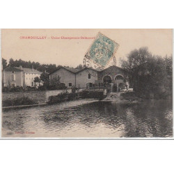 CHAMOULLEY : usine...