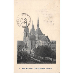 CAEN : carte photo du...