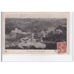 FRANCE : CHATELET : mines...