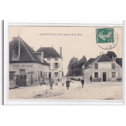 MONTCHEVREUIL : carte photo...