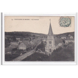 FONTAINES-le-BOURG : vue...