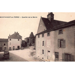 COURBEVOIE : carte photo du...