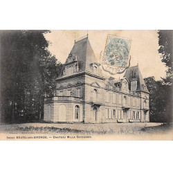 BOURG SUR GIRONDE - Chateau...
