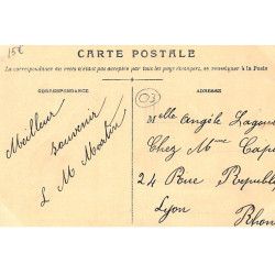 GISORS : carte photo des...
