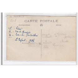 ROUEN : carte photo d'une...