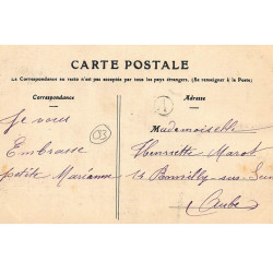 ROUEN : carte photo du...