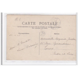 DUNKERQUE : carte photo du...